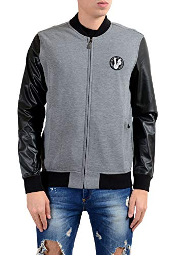 Versace Jeans Men's Two Tones Full Zip Track Jacket