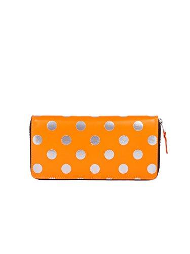 Comme Des Garçons Women's Orange Wallet