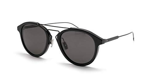 Christian Dior Black Tie 226/S Sunglasses Black Matte Black/Gray