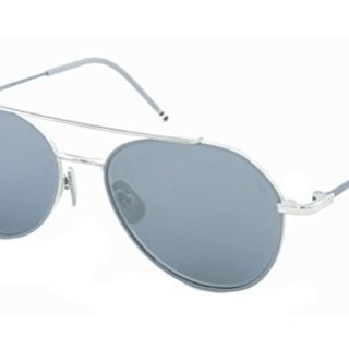 Thom Browne TB 105 Sunglasses 55 mm Silver