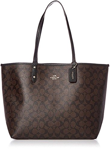 Coach Reversible PVC City Signature Tote