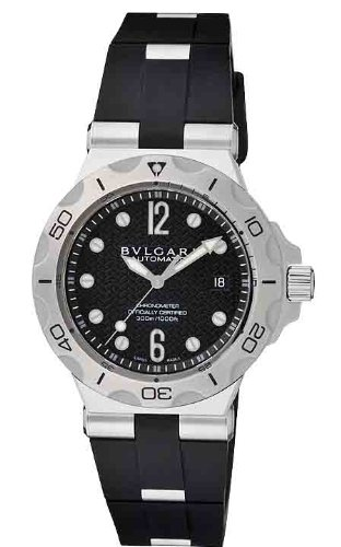 Bvlgari Diagono Professional Acqua Mens Watch