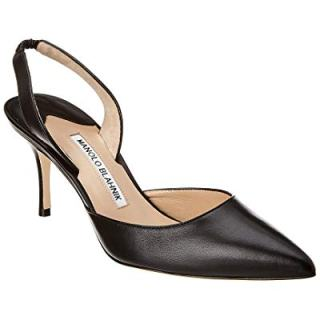 Manolo Blahnik Carolyne Leather Pump, 39