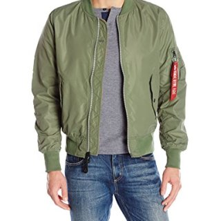 Alpha Industries Men's Scout, Sage, Small