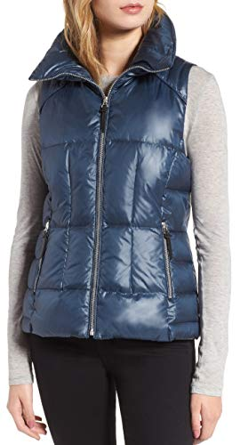 "Marc New York by Andrew Marc Women's Lanie 24"" Lacquer Puffer Jacket"