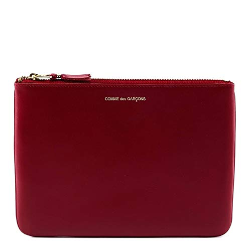 Comme Des Garçons Women's Red Leather Wallet