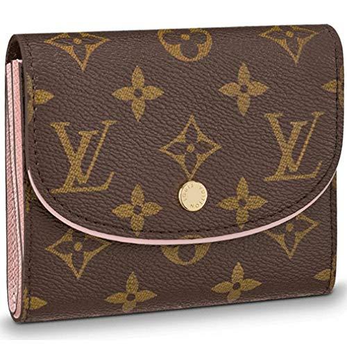 Louis Vuitton Monogram Canvas Ariane Wallet Rose Balleria Pocket Article