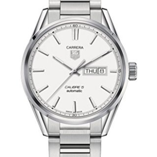 Tag Heuer Carrera Automatic Silver Dial Stainless Steel Mens Watch