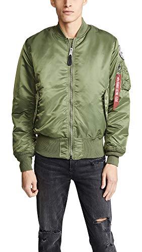Alpha Industries Men's Coalition Forces Flight Jacket, sage, Medium