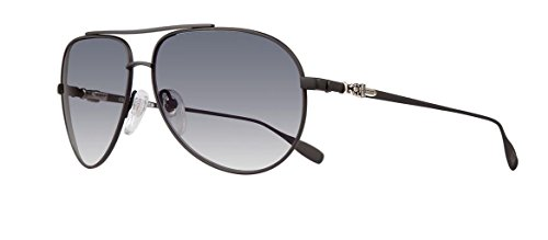 Chrome Hearts - Stains IV- Sunglasses (Matte Black, Smoke Gradient)