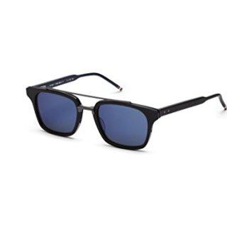 Sunglasses THOM BROWNE Iron w/Dark GreyBlue Mirro