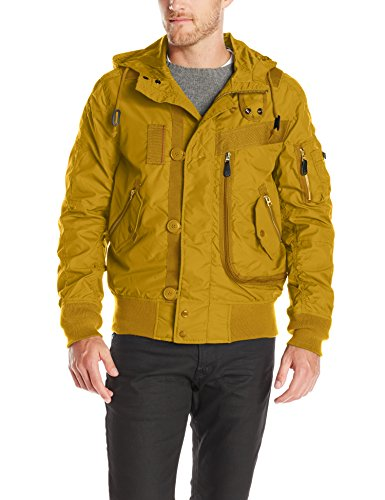 Alpha Industries Men's Helo Bomber, Tumbleweed, X-Large