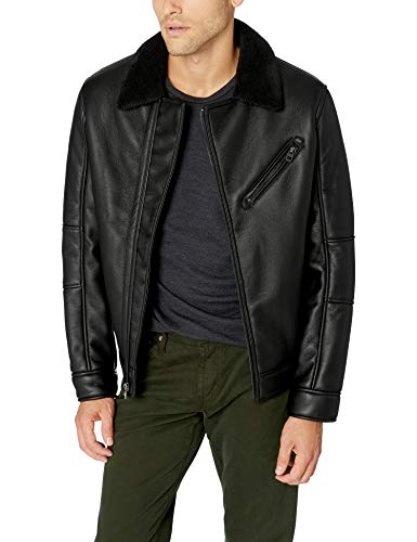 Marc New York by Andrew Marc Men's Maxton, Black, Small