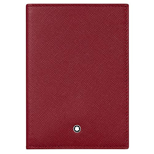 Montblanc Sartorial Vertical Wallet 4cc Red