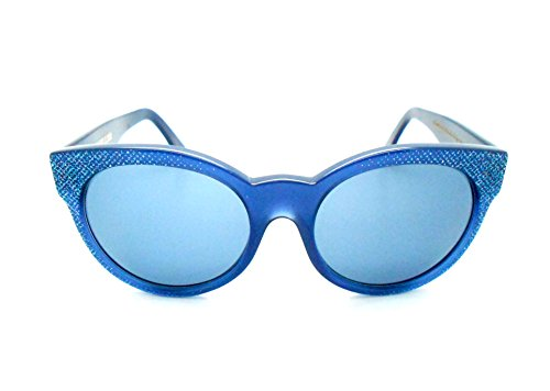 Cutler and Gross Blue Cat-eye Sunglasses
