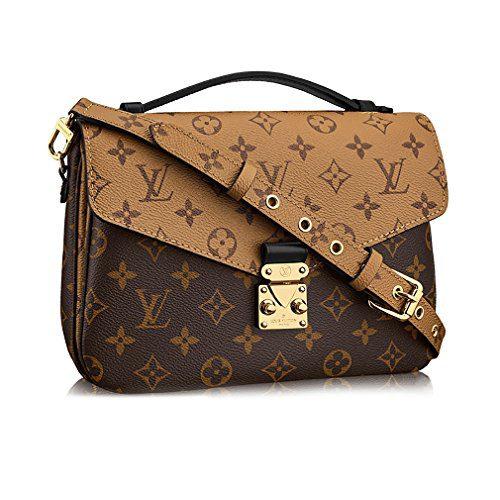Louis Vuitton Monogram Canvas Pochette Metis Cross Body Handbag