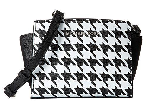 Michael Kors Selma MINI Messenger Cross-body Bag in Black
