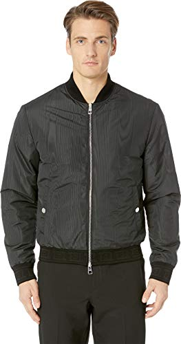 Versace Collection Men's Reversible Bomber Jacket Black 48
