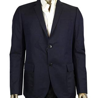 Gucci 2 Button Blue Cotton/Wool / Mohair Dylan'60 Selvage Jacket