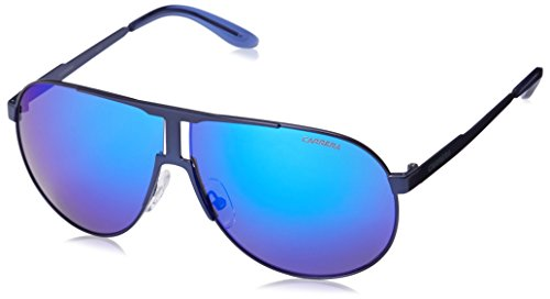 Carrera New Panamerika Aviator Sunglasses, Matte Blue & ML Blue, 64 mm