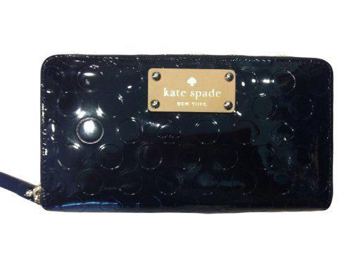 Kate Spade Neda Wallet Yaletown Black Patent Polyvinyl