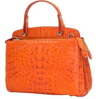 Authentic M Crocodile Skin Womens Hornback Clutch Shoulder Bag