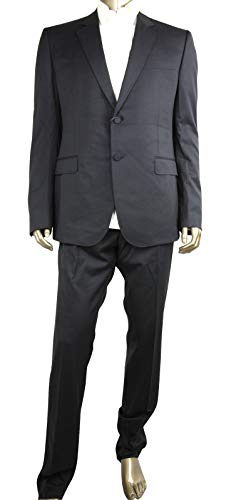 Gucci Men's Marseille Black Wool 2 Button 1 Vent Tuxedo