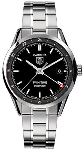 TAG Heuer Men's Carrera Calibre 7 Twin Time Automatic