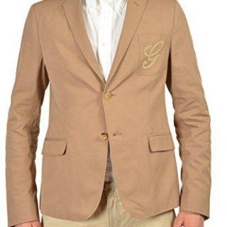 Gucci Men's Light Brown Two Button Blazer Size