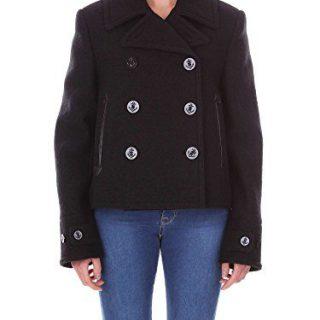 Mcq Alexander Mcqueen Women's Black Wool Coat