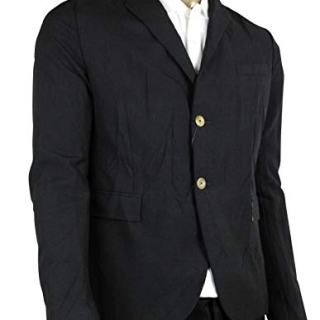 Gucci Formal 2 Buttons 1 Vent Black Wool/Mohair