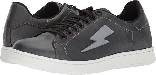 Neil Barrett Men's Thunderbolt Tennis Sneaker Anthracite 39 M EU