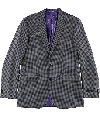 Ted Baker Mens Limited Two Button Blazer Jacket Grey