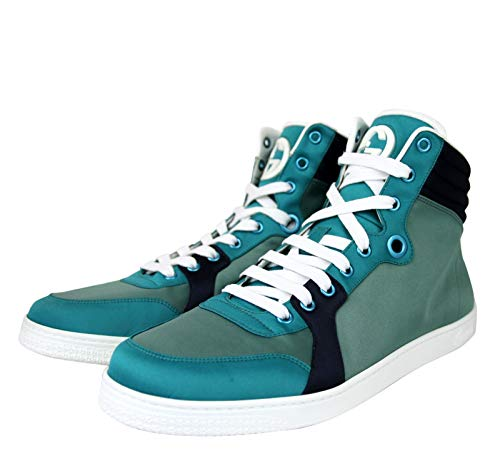 Gucci High top Multicolor Satin Fabric Sneaker