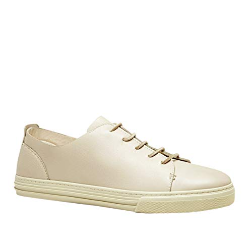 Gucci Lace up White Leather Sneaker