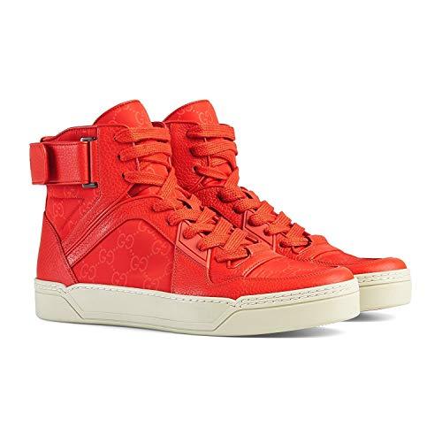 Gucci Men's Basketball High-top Sneaker, Dusk Red