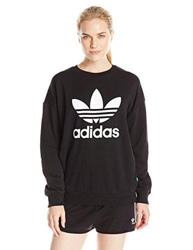 adidas Originals Women's Outerwear Trefoil Sweatshirt