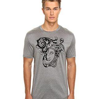 Versace Collection Flocked Medusa Head Graphic Short-Sleeve T-Shirt