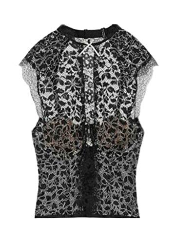 Victoria's Secret Dream Angels Chantilly Lace High-neck Bustier Black (34B)