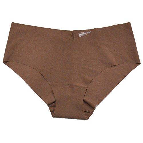 Victoria's Secret No Show Hiphugger Panties (L, Brown)