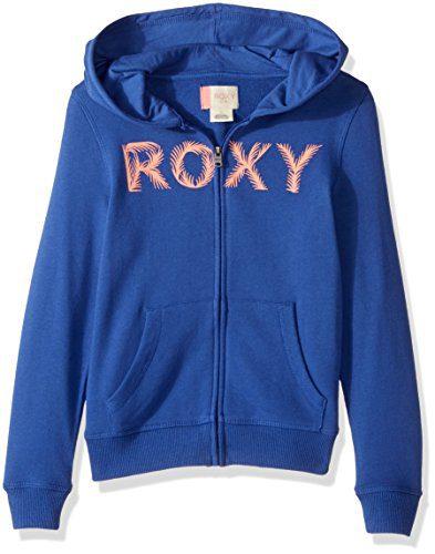 Roxy Girls' Little Luck Zip-up Hoodie Sweatshirt
