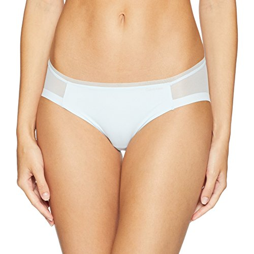 Calvin Klein Women's Sculpted Bikini, Teardrop, Small