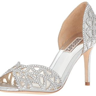 Badgley Mischka Women's Harris Pump, Silver