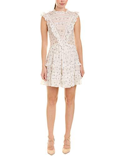 Rebecca Taylor Women's Sleeveless Sprig Floral Dress