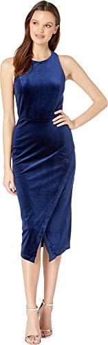 Yumi Kim Women's Late Night Dress Navy Velvet Small