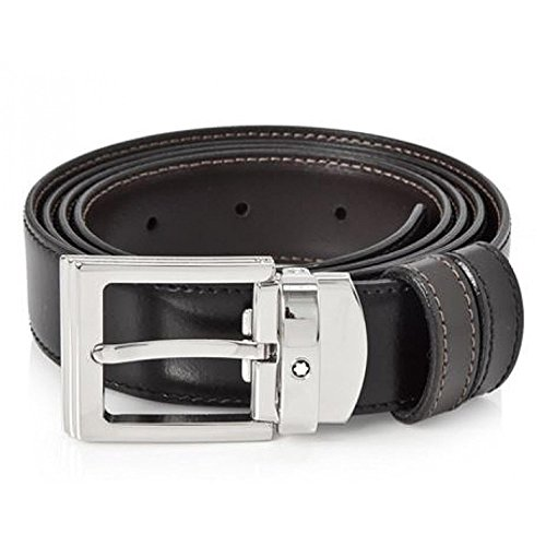 Montblanc Reversible Square Men's Leather Belt