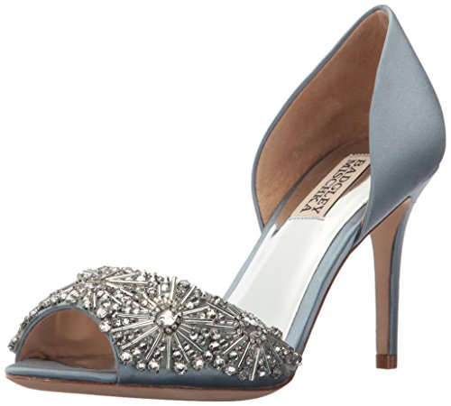 Badgley Mischka Women's Maria Pump, Cloudy Blue