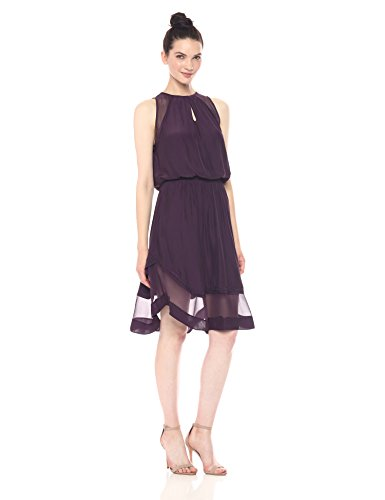 Ramy Brook Women's Quinn Dress, Merlot S