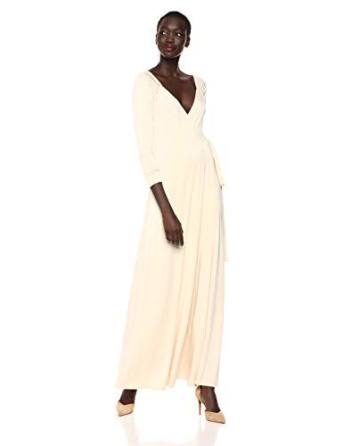Rachel Pally Women's Luna WRAP Dress, Cream, L