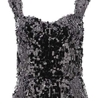 Dolce e Gabbana Women's Grey Polyester Top